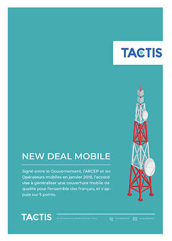 Cabinet de conseil - New Deal Mobile