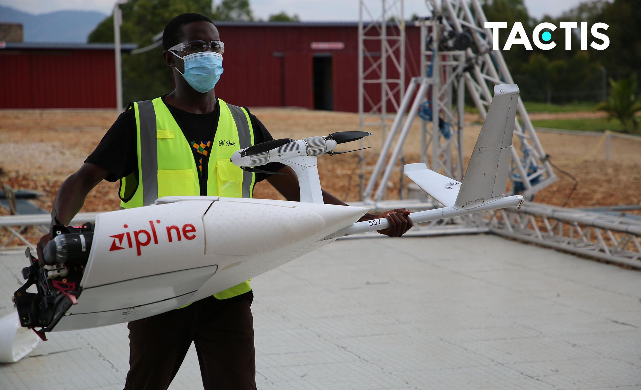 Zipline drones Rwanda